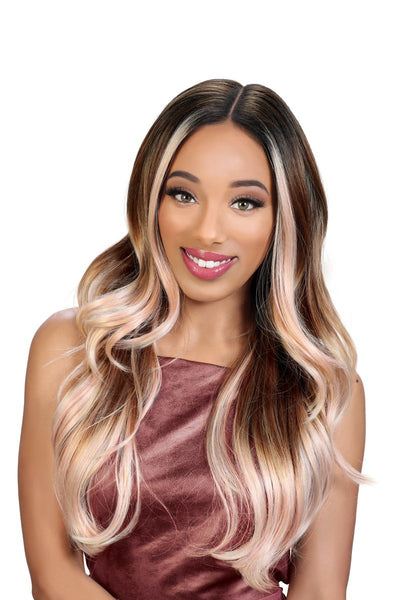Zury Sis Flawless Pre-Tweezed Royal Swiss Lace Front Wig - Glory