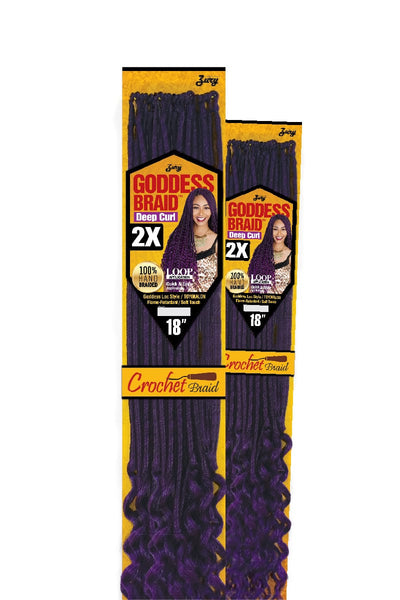 Zury Crochet Braid Goddess Locs - Deep Curl 18 Inches - Beauty Empire