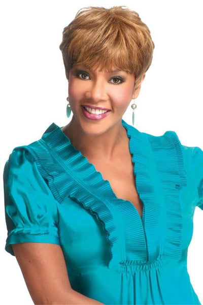 Vivica A. Fox Pure Stretch Cap Human Hair Wig - H302 - Beauty EmpireVivica A Fox - 1