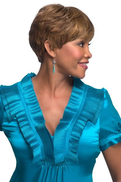 Vivica A. Fox Pure Stretch Cap Human Hair Wig - H302 - Beauty Empire