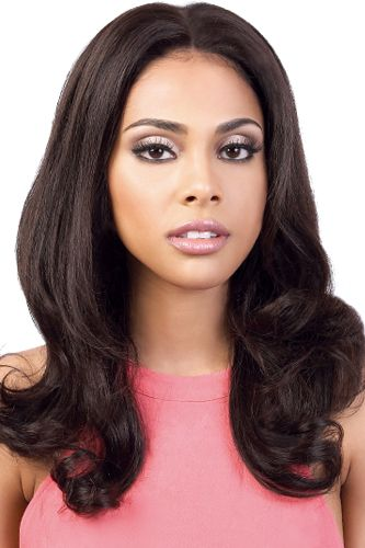 Motown Tress 100% Persian Virgin Remy Human Hair 13X4 Silk Base Swiss Lace Front Wig - DPSL3.Dara