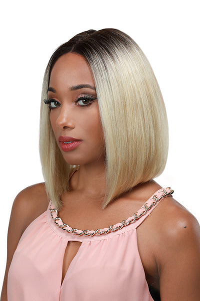 Zury Sis 100% Brazilian Remy Human Hair Lace Front Wig - HRH Getty
