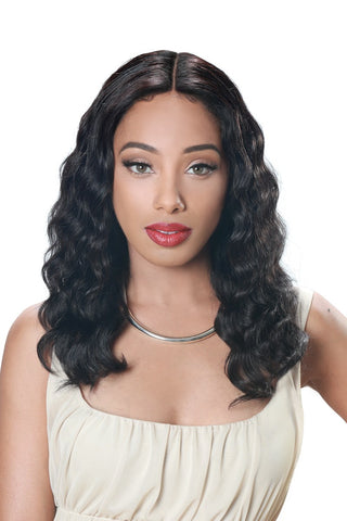 Zury Sis Human Revive 100% Brazilian Human Hair Lace Front Wig - Thanks