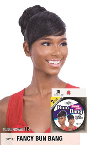 Freetress Equal Bang & Swoop Side Bang - Fancy Bun Bang - Beauty Empire