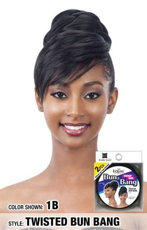 Freetress Equal Bang & Swoop Side Bang - Twisted Bun Bang - Beauty Empire