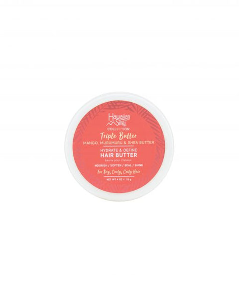 Hawaiian Silky Collection Triple Butter Hydrate & Define - Hair Butter 4oz
