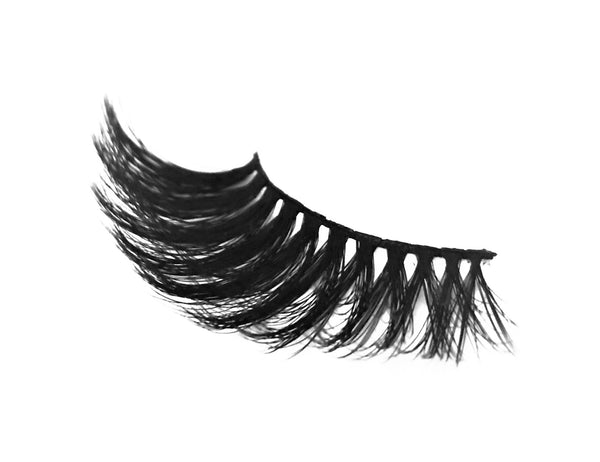 Retrotress 100% Hand Made 3D 25mm Wispy Lashes - 02