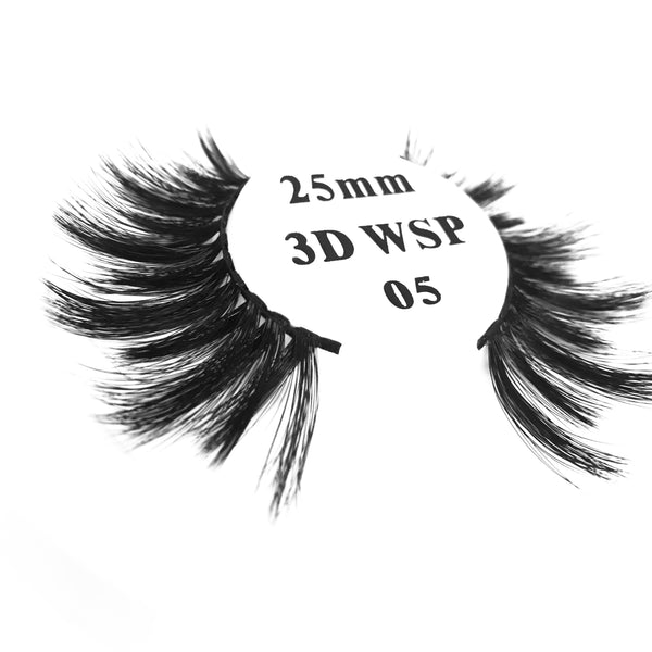 Retrotress 100% Hand Made 3D 25mm Wispy Lashes - 05 - Beauty Empire
