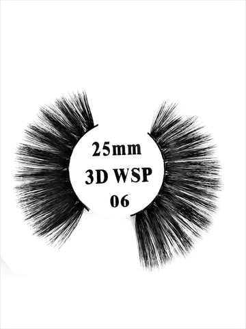 Retrotress 100% Hand Made 3D 25mm Wispy Lashes - 06