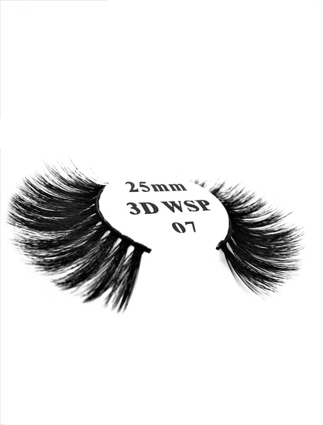 Retrotress 100% Hand Made 3D 25mm Wispy Lashes - 07