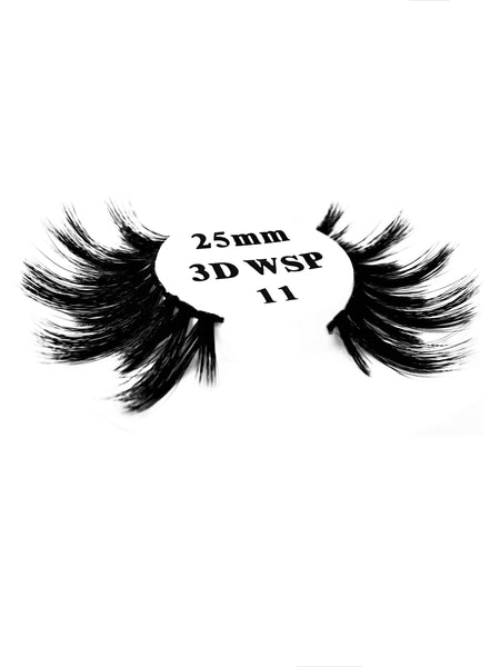 Retrotress 100% Hand Made 3D 25mm Wispy Lashes - 11 - Beauty Empire