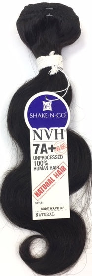 Shake N Go 7A+ 100% Unprocessed Human Hair - Body Wave - Beauty Empire