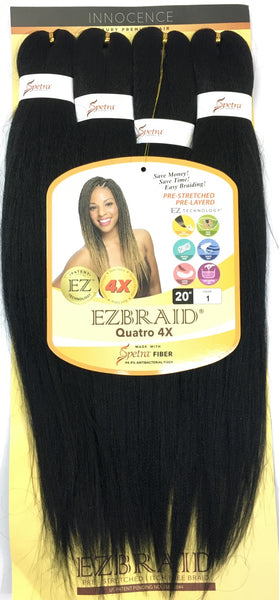 I & I Oh! Yes Hair Professional EZ Braiding Hair - 4X 20 Inches - Beauty Empire