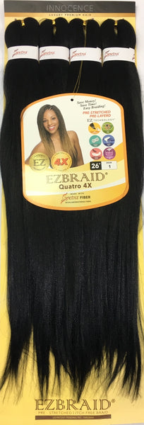 I & I Oh! Yes Hair Professional EZ Braiding Hair - 4X 26 Inches - Beauty Empire