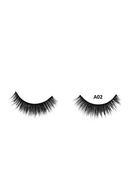 Mink 3D Lashes - A02 - Beauty Empire