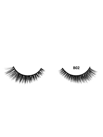 Mink 3D Lashes - B02 - Beauty Empire