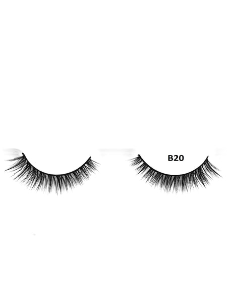 Mink 3D Lashes - B20 - Beauty Empire