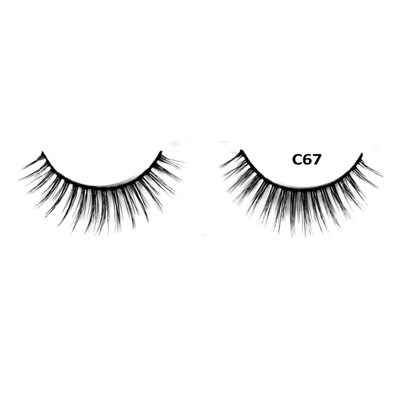 Mink 3D Lashes - C67 - Beauty Empire