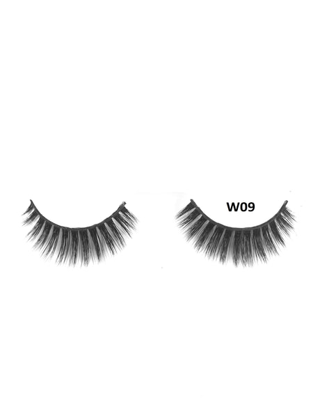 Mink 3D Lashes - W09 - Beauty Empire