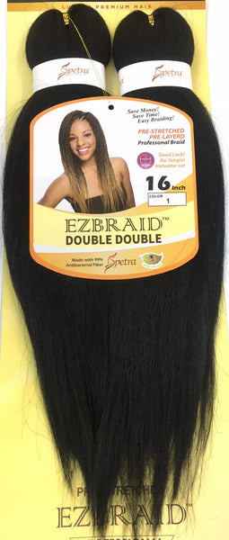 I & I Oh! Yes Hair Professional EZ Braiding Hair Double Double - 16 Inches - Beauty Empire