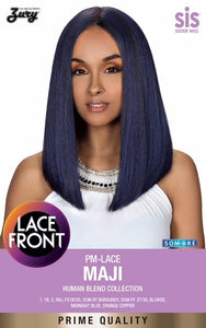Zury Sis Prime Collection Mixed Blend Lace Front Wig - Maji