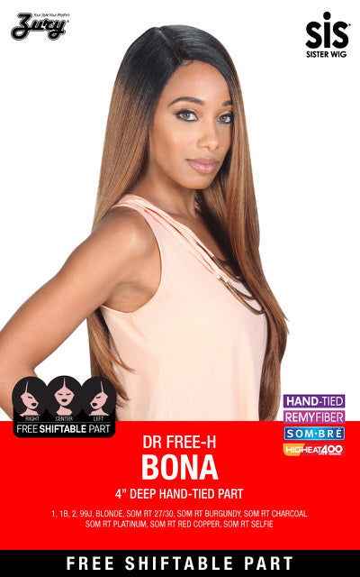 Zury Sis The Dream Free Shift 4 Inch Deep Part Wig - DR Free-H Bona