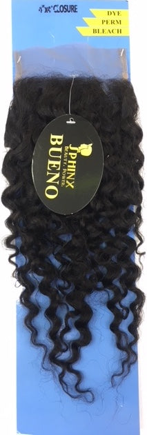 Sphinx Bueno 10A 100% Pure Virgin Human Hair - 4x4 Closure