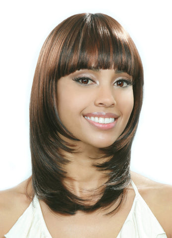 Bobbi Boss Synthetic Lace Front Wig - MLF130 Mars