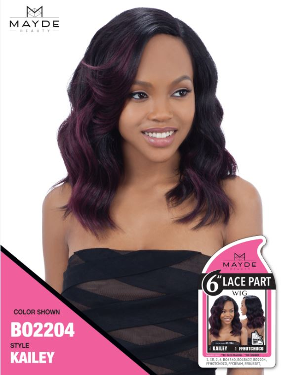 Mayde 6 Inch Lace Part Wig - Kailey