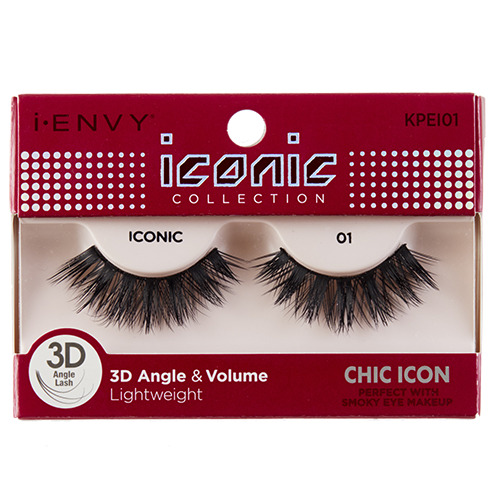 I-Envy Iconic Collection 3D Eyelash - Chic Icon KPEI01 - Beauty Empire