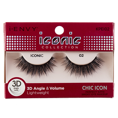 I-Envy Iconic Collection 3D Eyelash - Chic Icon KPEI02 - Beauty Empire