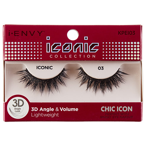 I-Envy Iconic Collection 3D Eyelash - Chic Icon KPEI03 - Beauty Empire