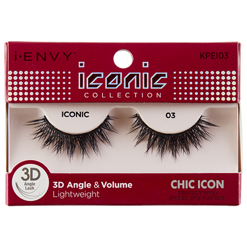 I-Envy Iconic Collection 3D Eyelash - Chic Icon KPEI03