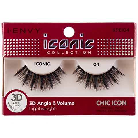 I-Envy Iconic Collection 3D Eyelash - Chic Icon KPEI04
