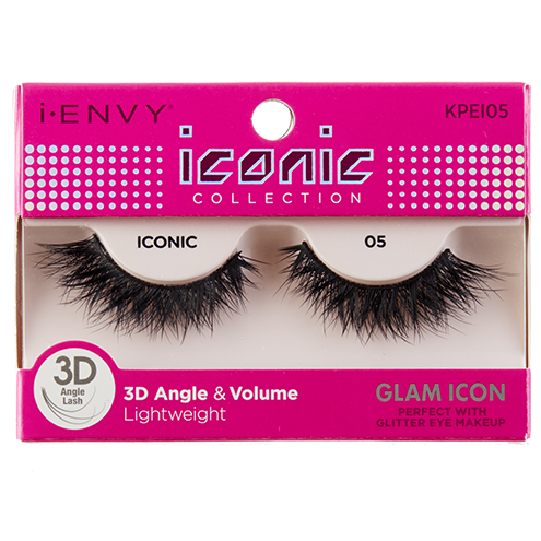 I-Envy Iconic Collection 3D Eyelash - Glam Icon KPEI05 - Beauty Empire