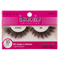 I-Envy Iconic Collection 3D Eyelash - Glam Icon KPEI06 - Beauty Empire