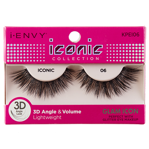 I-Envy Iconic Collection 3D Eyelash - Glam Icon KPEI06