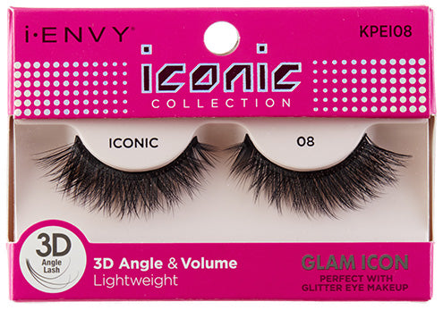 I-Envy Iconic Collection 3D Eyelash - Glam Icon KPEI08 - Beauty Empire