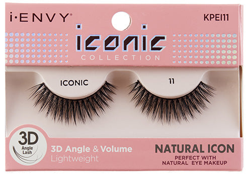 I-Envy Iconic Collection 3D Eyelash - Natural Icon KPEI11 - Beauty Empire