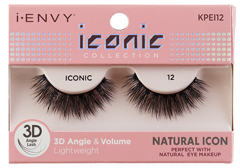 I-Envy Iconic Collection 3D Eyelash - Natural Icon KPEI12