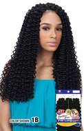 Freetress Braid Pre-Looped Crochet Braid - 3X Water Wave 16 Inches - Beauty Empire