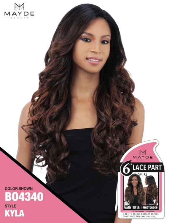 Mayde Beauty 6 Inch Lace Part Wig - Kyla