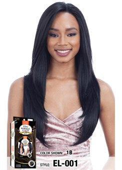 Model Model 100% Hand-Tied Elite Whole Lace Front Wig - EL 001