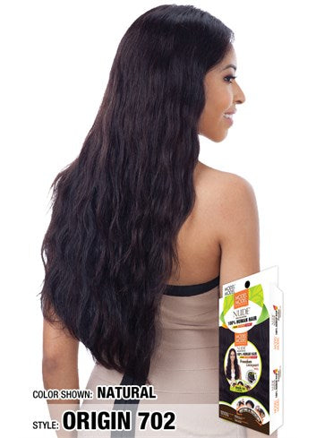 Model Model Nude 100% Human Hair 5 Inch Freedom Lace Part Wig - Origin 702