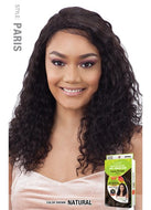 Model Model Nude 100% Brazilian Human Hair 5 Inch R Part Lace Front Wig - Paris
