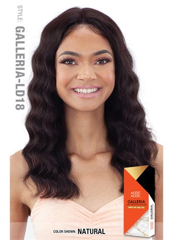 Model Model Galleria 100% Virgin Human Hair Lace Front Wig - Loose Deep - Beauty Empire