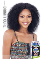 "Model Model Nude Fresh Wet & Wavy 100% Human Hair 5"" C-Part Lace Front Wig - Bright Curl"