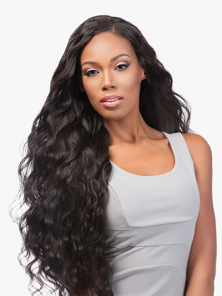 Sensationnel 7A Bare & Natural 100% Virgin Human Hair 4X4 Lace Closure + 3 Bundle Body Wave Deal - Beauty Empire