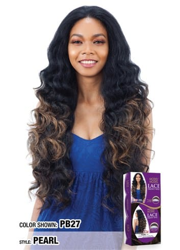 Model Model Invisible Lace Front Wig - Pearl