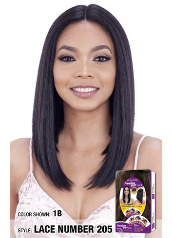 Model Model Freedom Part Lace Front Wig - Lace Number 205 - Beauty Empire